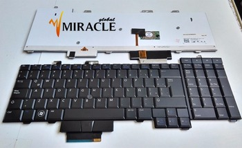 Repair You Life Laptop Keyboard For Dell Precision M6400 M6500 M6400Z LA Latin layout With backlit and black pointing and Case laptop keyboard for sony svs1512z9e svs1512z9r svs1513a4e svs1513b4e black without frame latin america la