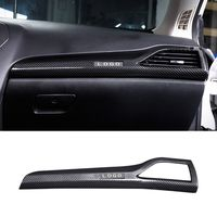 Pcmos ABS Co pilot right outlet decorative frame Trim Black For Ford Fusion Mondeo 2013 2018 Interior Mouldings Accessories New