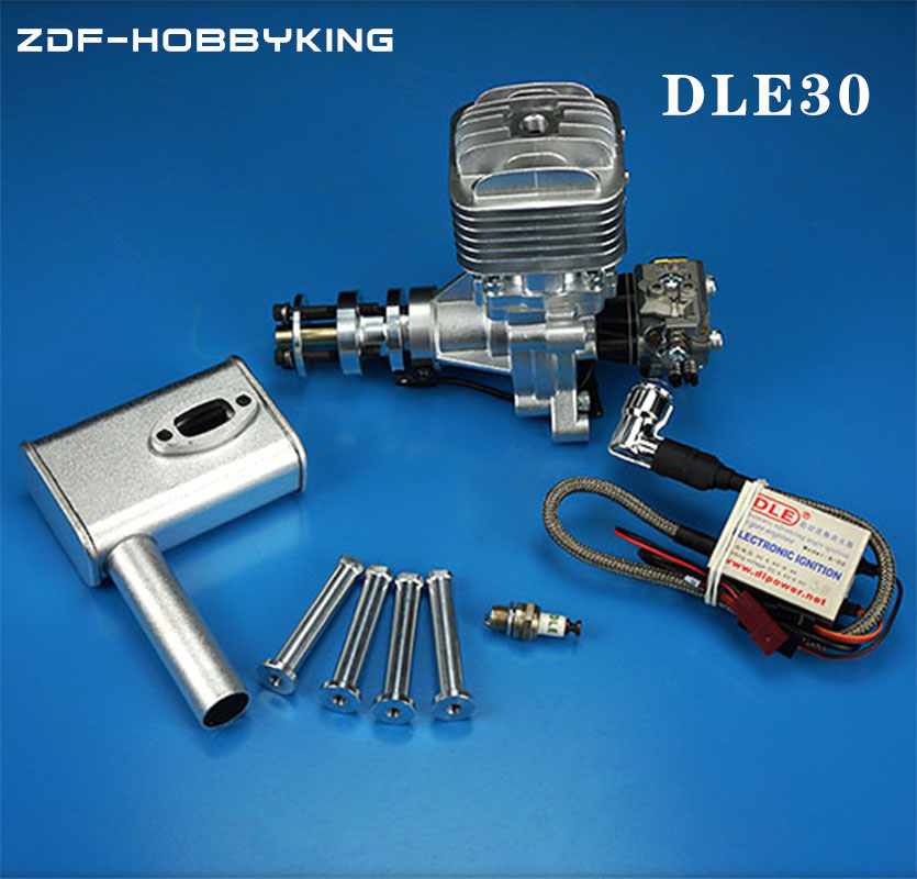 DLE Original new DLE30 30CC DLE30CC DLE Gasoline / Petrol Engine for RC Airplane original dle dle55ra 55cc gasoline engine for rc airplane