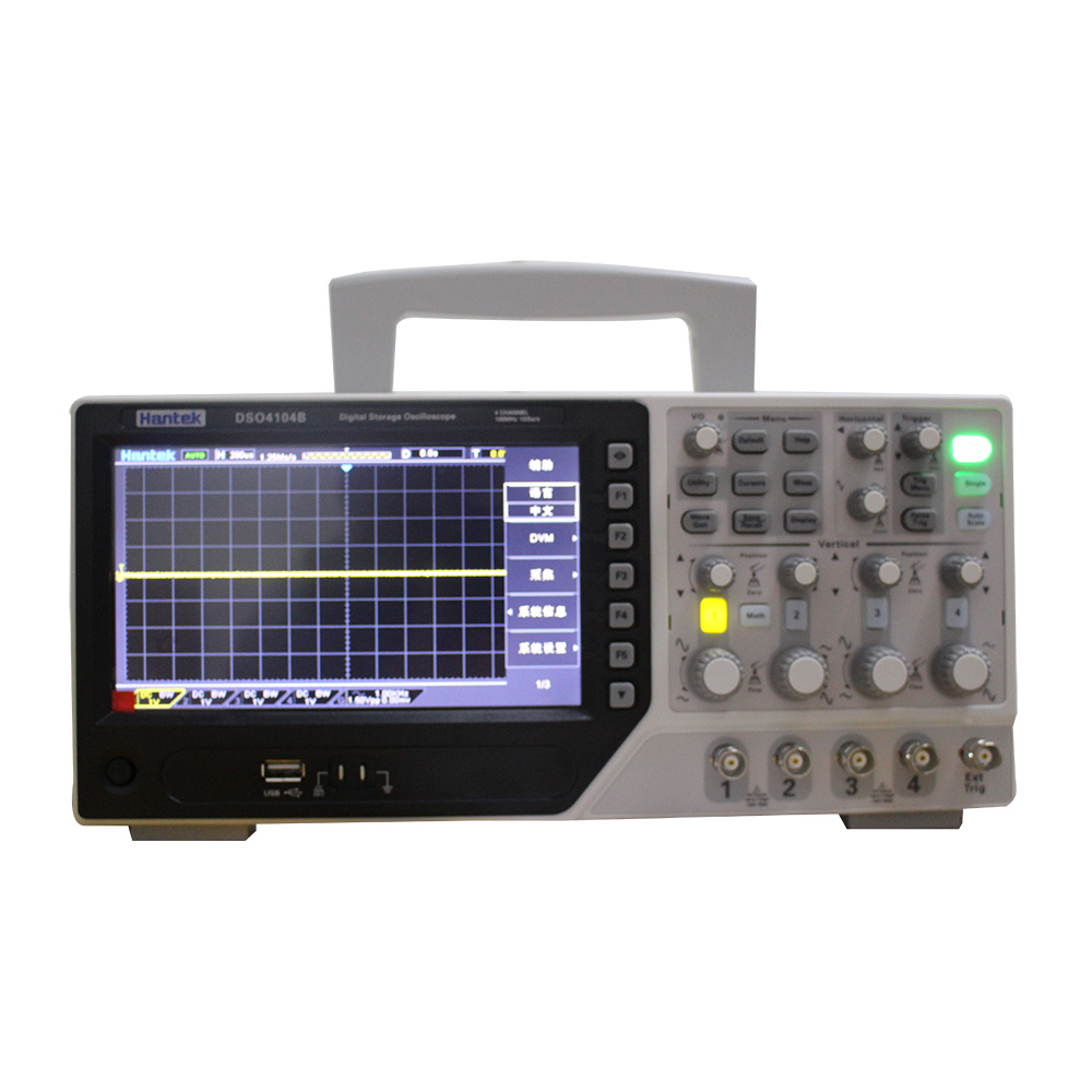 2018 Hantek Hot sales  Items DSO DSO4004B DSO4104B DSO4204B DSO4254B 4CH Oscilloscope 7 inch 64K color TFT
