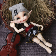 Free Shipping Fairyland FL Realpuki Papilio BJD Doll 1/13 Pink Smile Elves Toys