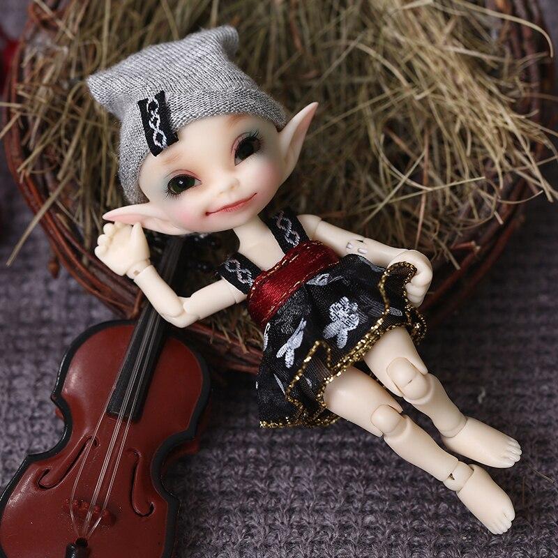 Livraison gratuite Fairyland FL Realpuki Papilio BJD poupée 1/13 rose sourire elfes jouets-in Poupées from Jeux et loisirs    1