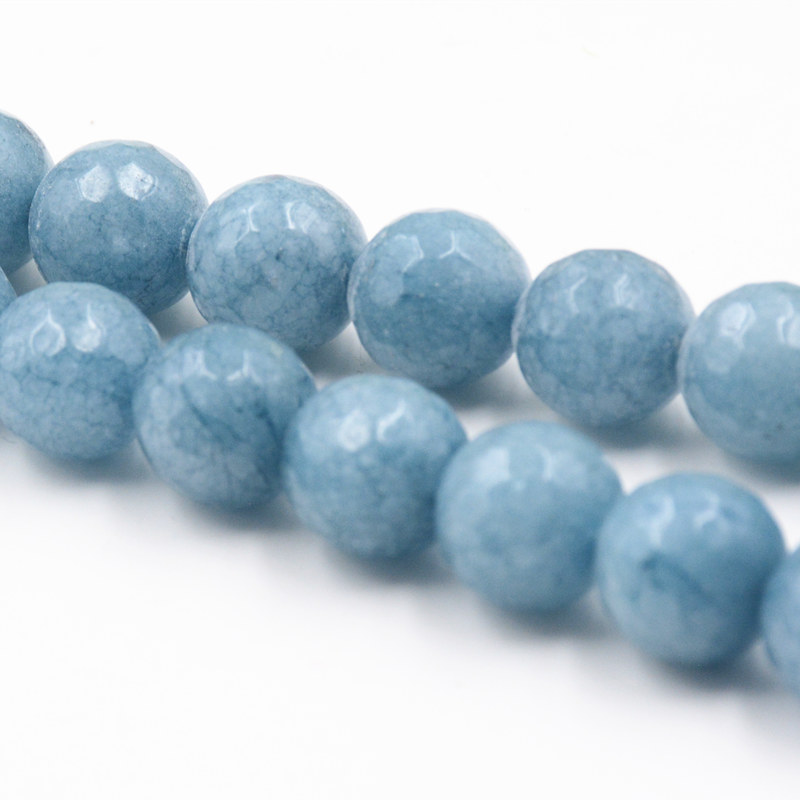Pack of 10 Nugget  Dark Turquoise Howlite Beads for Jewellery Making B33L