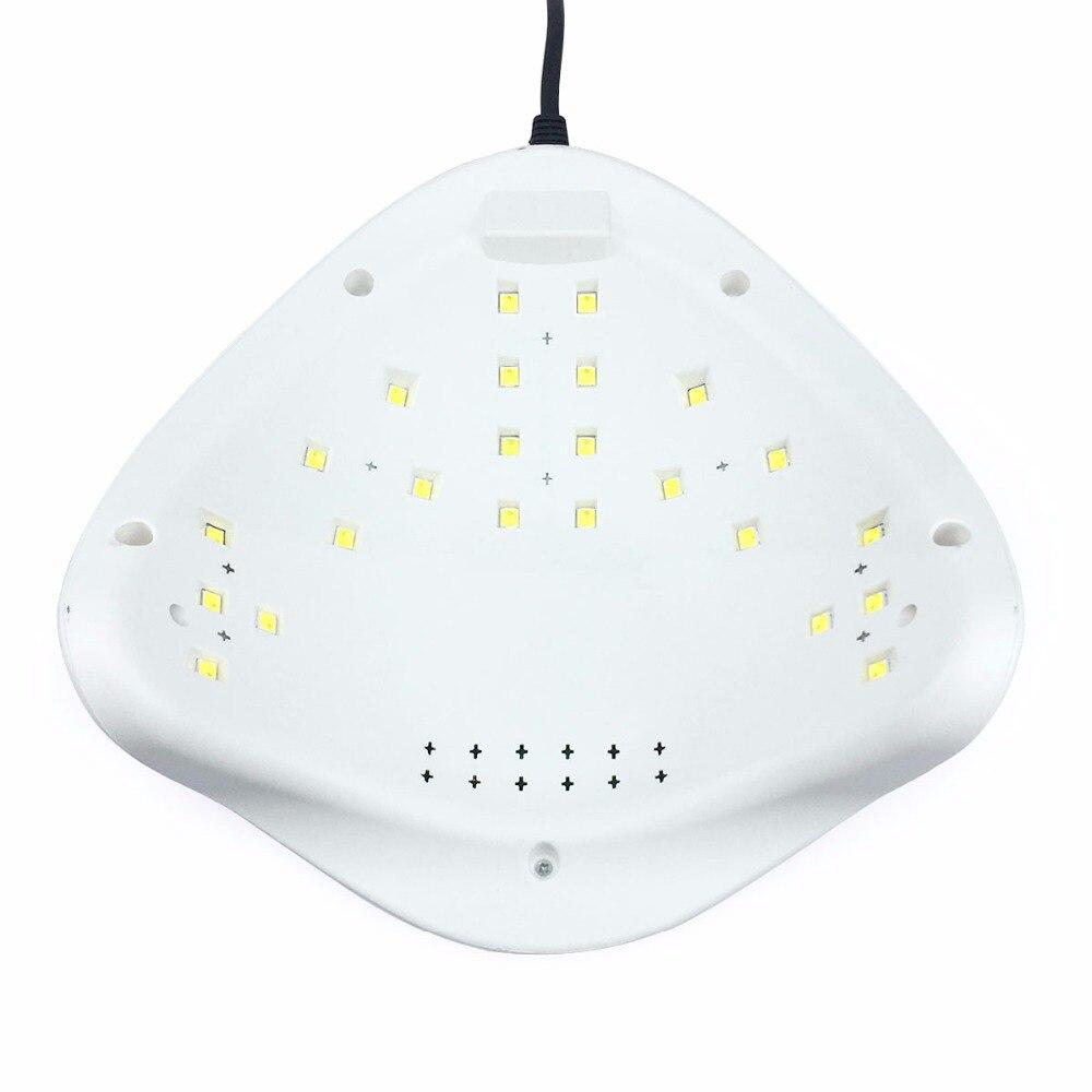 SUN5 48 watt Nagel Trockner Dual UV LED Nagel Lampe Gel Curing Licht ...