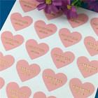 100Pcs Heart-shape S...