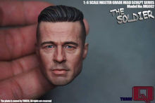 Brad Pitt 1/6 Scale Male Head Sculpts Model Toys Man Head Carving For 12″ Action Figure Body Accessory