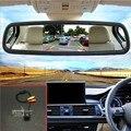 """5 """"Assistência de Estacionamento Monitor Do Carro TFT LCD a Cores Espelho Auto Monitores + carro Reverter Câmera de Visão Traseira Para Renault Laguna 2/3 X91"""