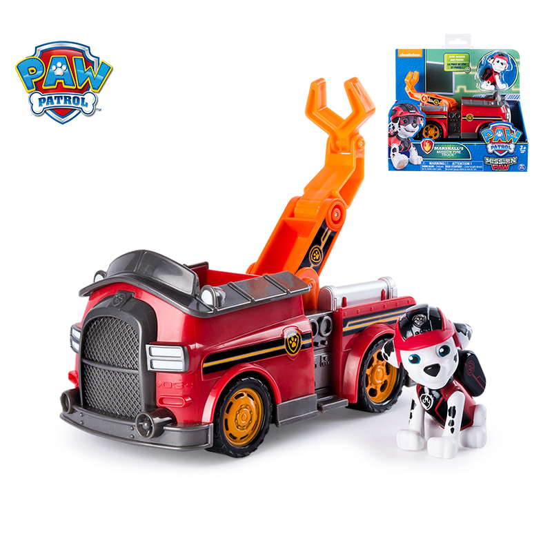 Image 3 - Original Paw Patrol Special Mission Series Puppy Patrol Car Action Figures Toy Dog Lookout Tower Rescue Bus Vehicle Toy Kid Gift-in Action & Toy Figures from Toys & Hobbies