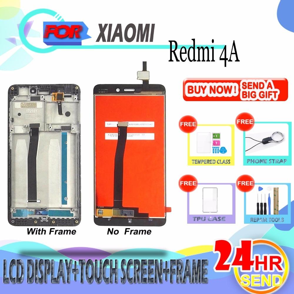 SZHAIYU для Xiaomi Redmi 4A ЖК-дисплей Дисплей Сенсорный экран планшета в сборе Замена 5,0 дюймов с инструментами