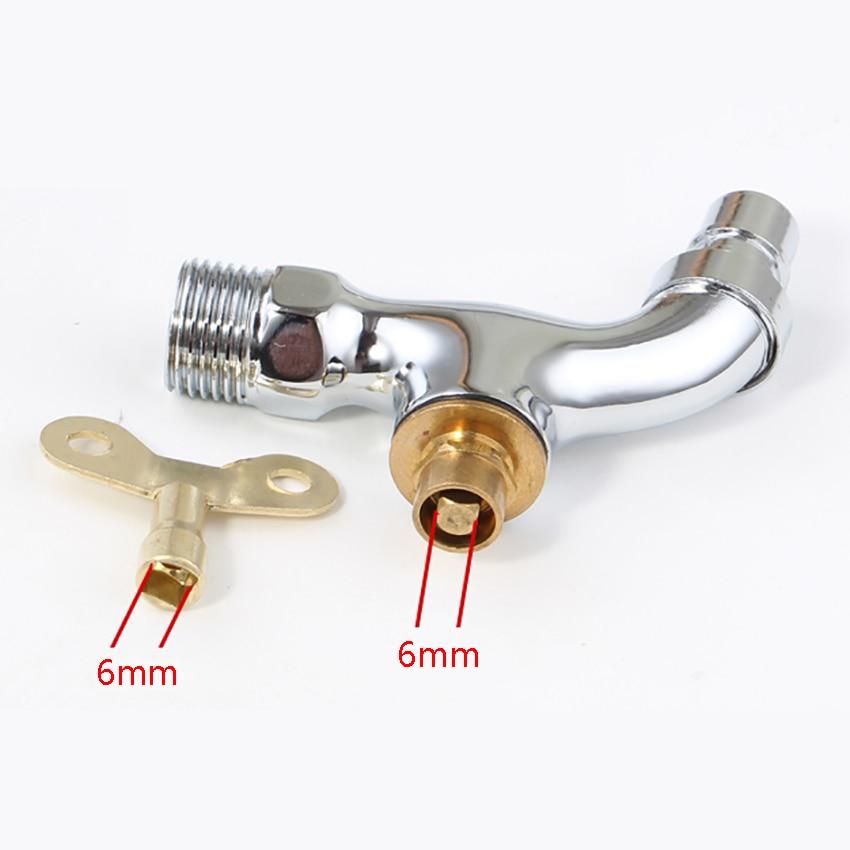 Шт. 1 шт. кран переключатель ключ замок протектор ручка кран наружные противоугонные смесители стиральная машина воды кран внутренний диаме...