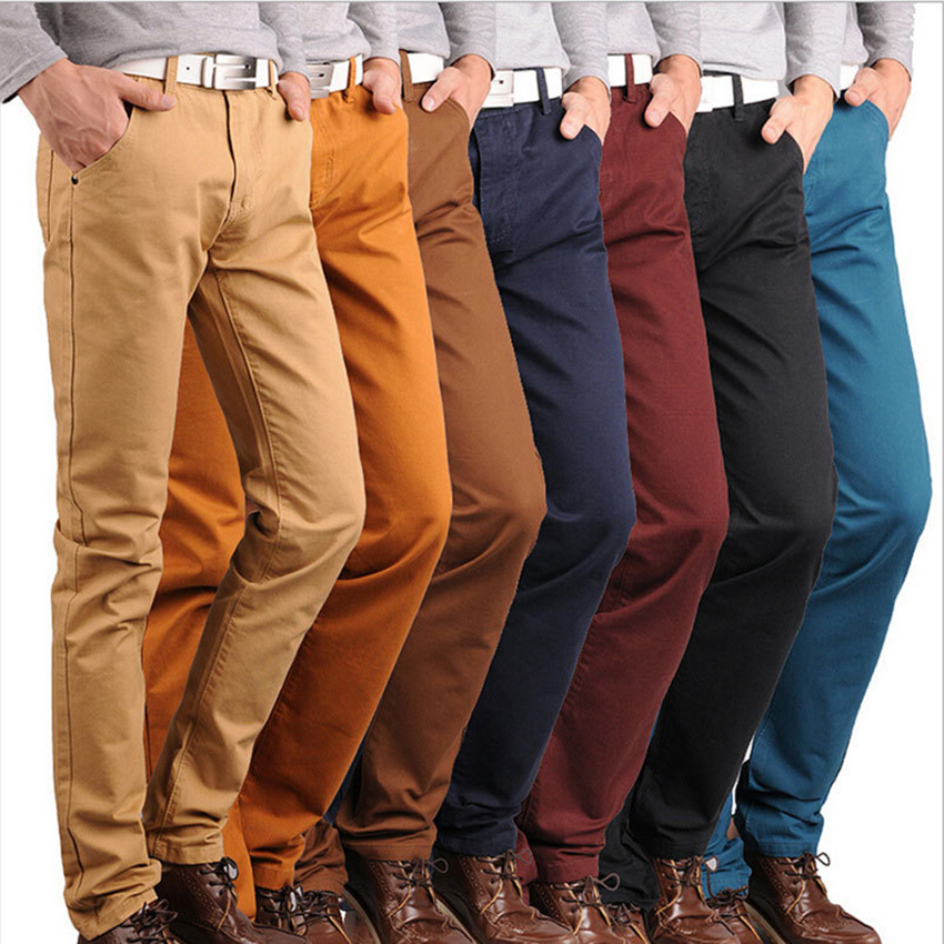 Aliexpress.com  Buy Free shipping ! fashion Menu0026#39;s casual pants trousers Menu0026#39;s Solid cotton ...