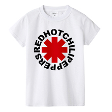 Red Hot Chili Peppers Print T-Shirt Boys Girls Toddlers Kids