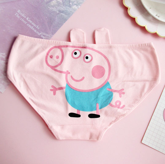 Animation Cute Pink Pig Cotton Underwear 1