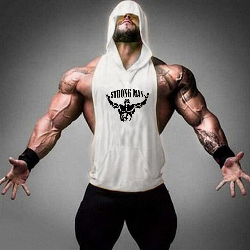 STRONG MAN white