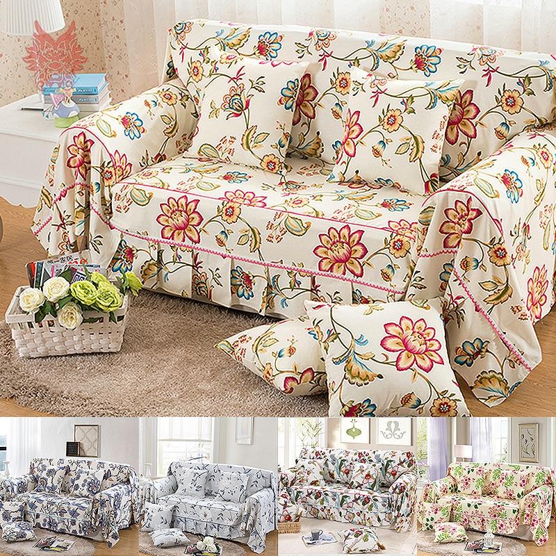 Textile Past Style Flower Print