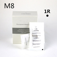 M8 30pcs 1RL Permanent Makeup Compact Needle for PMU M8 III M8 4th Machine Pen EO sterilization Processed Tattoo needles