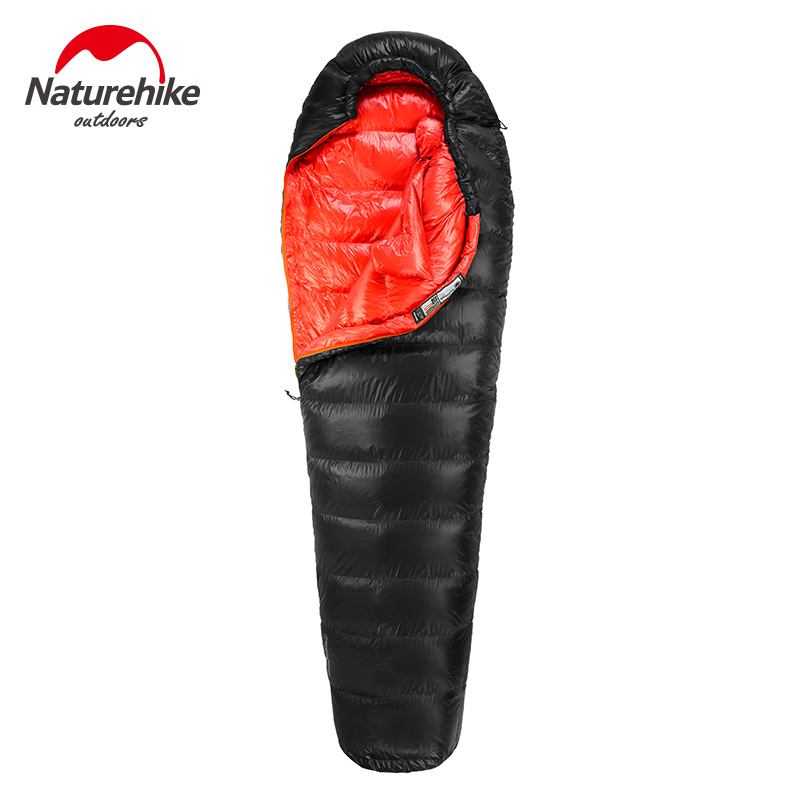Naturehike Outdoor Ultralight Comfortably Keep Warm Mummy Duck Down Single Adult Sleeping Bag For Hiking Camping