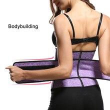 Slimming Wrap Belt Sweat Waist Trainer Women Fitness Sweat Belt Girdle Shapewear Plus Size Women Mens Body Shaper Gym Belt