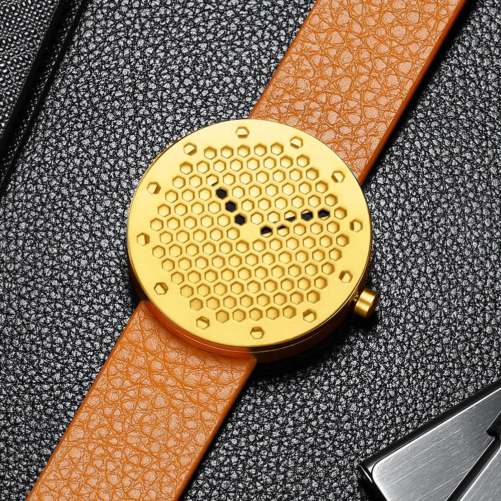 Fashion Mens Watches CRRJU Brand Luxury Leather Quartz Men Watch Casual Sport Clock Male Relogio Masculino Drop Shipping