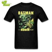 Batman And Robin T Shirt Men S Short Sleeve Crew Neck Cheap Tees Male Newest Big