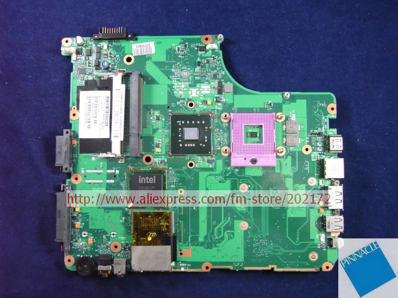 V000126830 Motherboard for Toshiba Satellite A300 A305 Motherboard 6050A2169901 nokotion sps v000198120 for toshiba satellite a500 a505 motherboard intel gm45 ddr2 6050a2323101 mb a01