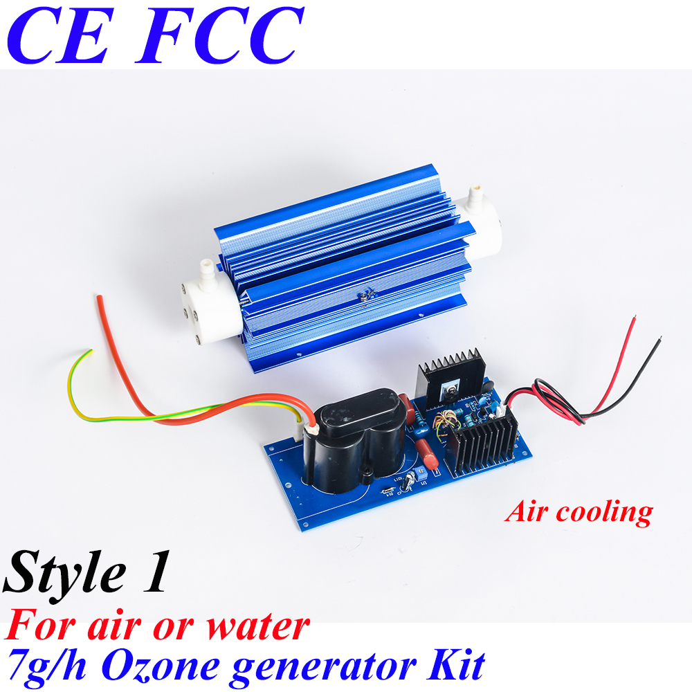 Pinuslongaeva CE EMC LVD FCC Factory outlet 7g/h Ceramic tube type ozone generator Kit Long life ozone generator module ce emc lvd fcc high concentration ozone generator for sale