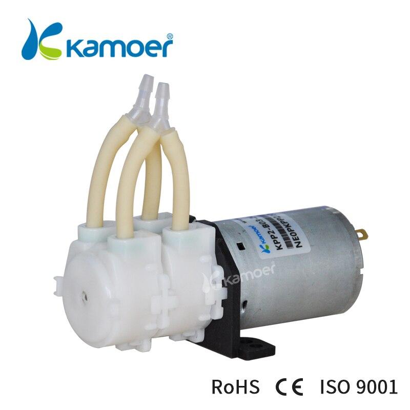Kamoer KPP2 bomba peristáltica 12 V/24 V DC bomba de agua (alta velocidad de flujo, cabezas dobles, envío libre)