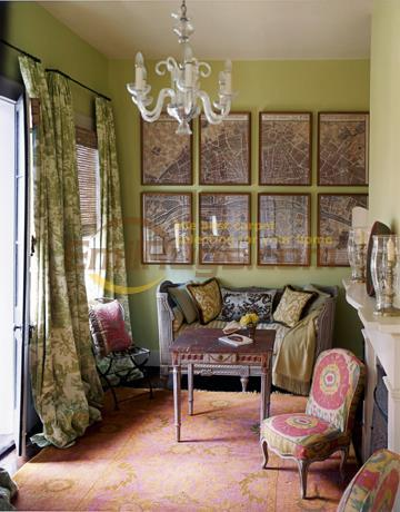 para sala de estar padrão popular arte chinesa lã ovelha natural