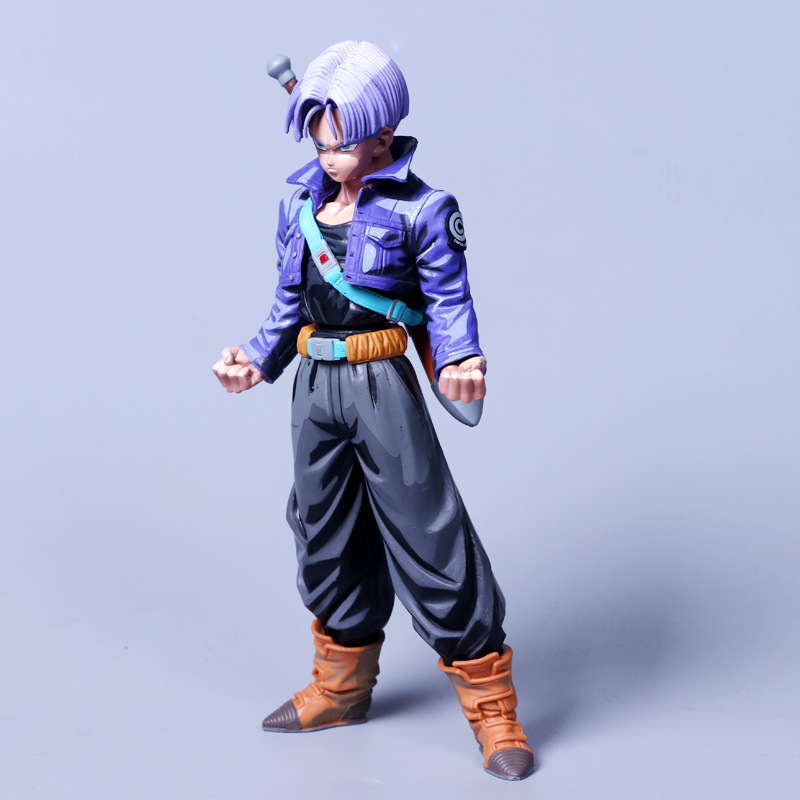 ZXZ 25cm Anime Dragon Ball Z Super Saiyan TRUNKS Action Figures Master Stars Piece Dragonball Figurine Collectible Model Toy