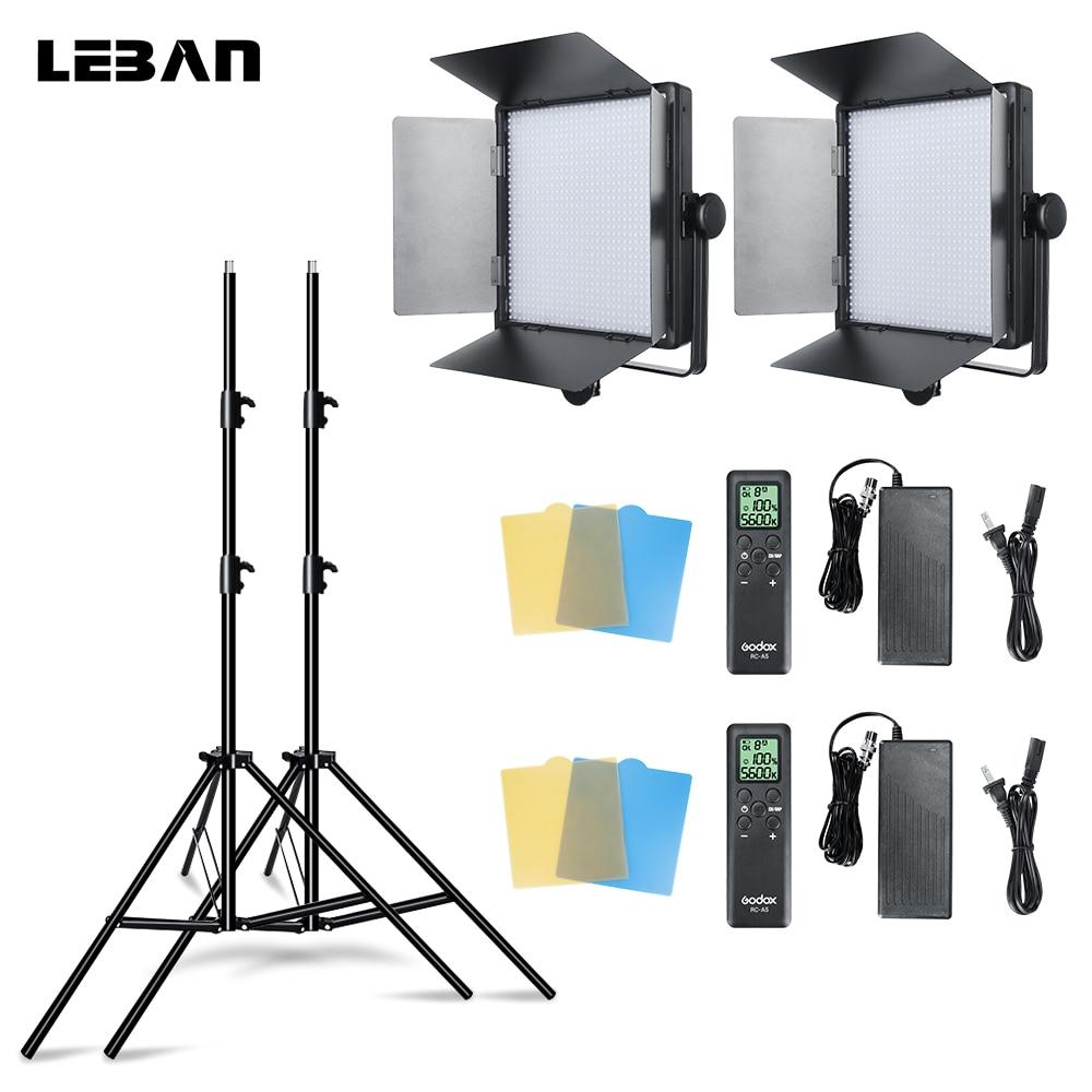 Wedding Photography Lighting Equipment: Aliexpress.com : Buy Godox 2pcs LED1000W 5600K Continuous