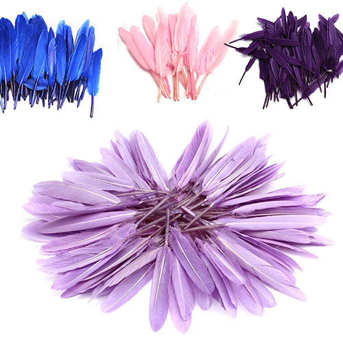 100pcs Home Decor Improvement Diy Feathers For Craft Wedding Handmade Tools