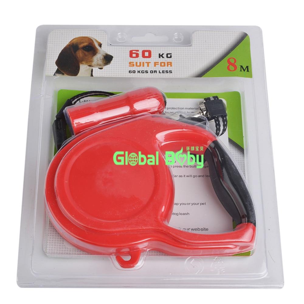 Új ABS anyag 5M / 8M hosszúságú behúzható pórázok Nagy kutya - Pet termékek - Fénykép 3