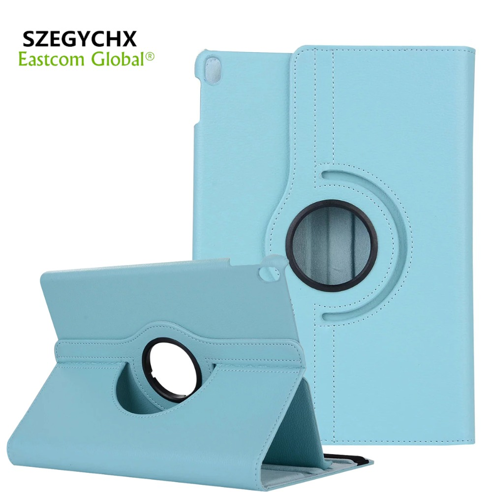 SZEGYCHX Tablet Cases for iPad 234 Cover 360 Rotation PU Leather Case for iPad 2 3