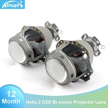 "RONAN 3.0"" E55 G2 D2S bi xenon Projector Headlight Lens For E65 A6 C5 A6L S6 W209 219 251 212 R171 ML320 car headlight upgrade"
