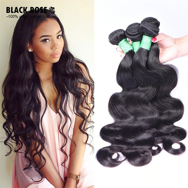 10a Brazilian Virgin Remy Hair Bundles 4 Body Wave Top Quality And