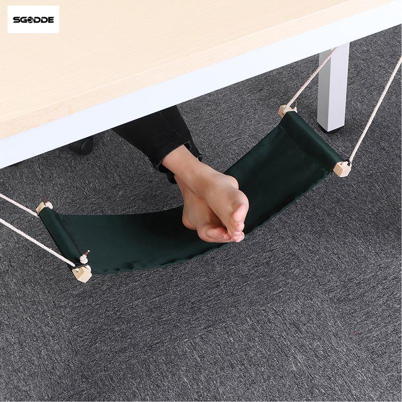 SGODDE el bienestar de oficina ocio hogar Oficina pie resto escritorio hamaca pies surf Internet-al aire libre resto