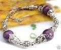 free shipping P&P ******* Chinese Tibet Purple Jade bead bracelet