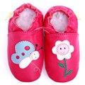 Newborn Baby Calçados Primeira Walker Sapatos de Bebê de Couro Meninas Mocassins Borboleta Macio Chinelo Menina Criança Crianças Sapato Sapatos Infantil