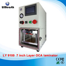 Newest 3 in 1 multi-functions Layer OCA laminating machine with 4L pump, OCA vacuum Laminator with 4 moulds, no tax to Russia