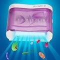 Marca Warmlife Dental Care Família UV Escova De Dentes Desinfetante Para As Mãos Parede-Montado Titular Escova de Dentes Esterilizador UV Light Box Zero Germ Oral