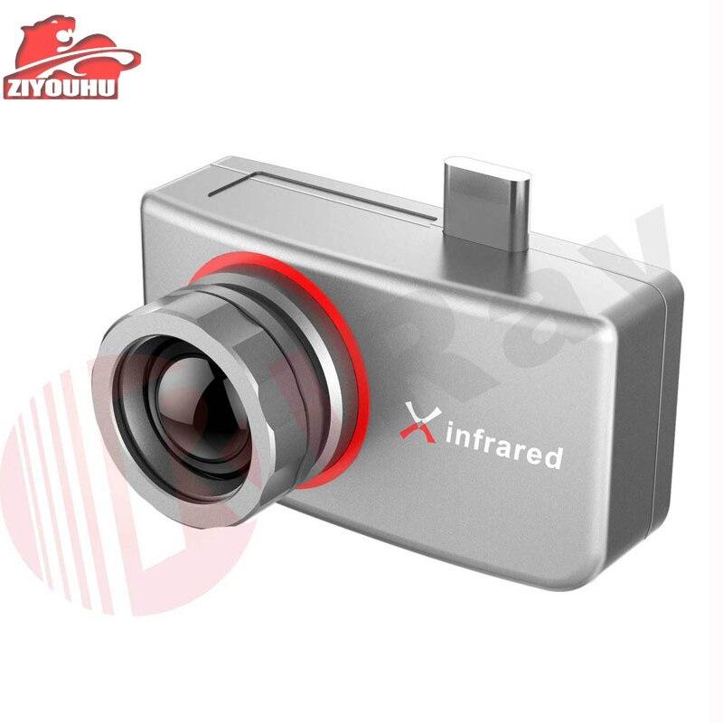 Imagerie thermique infrarouge X pour appareil Mobile fonction Multiple caméra de Vision thermique de poche caméra thermique imageur de chasse
