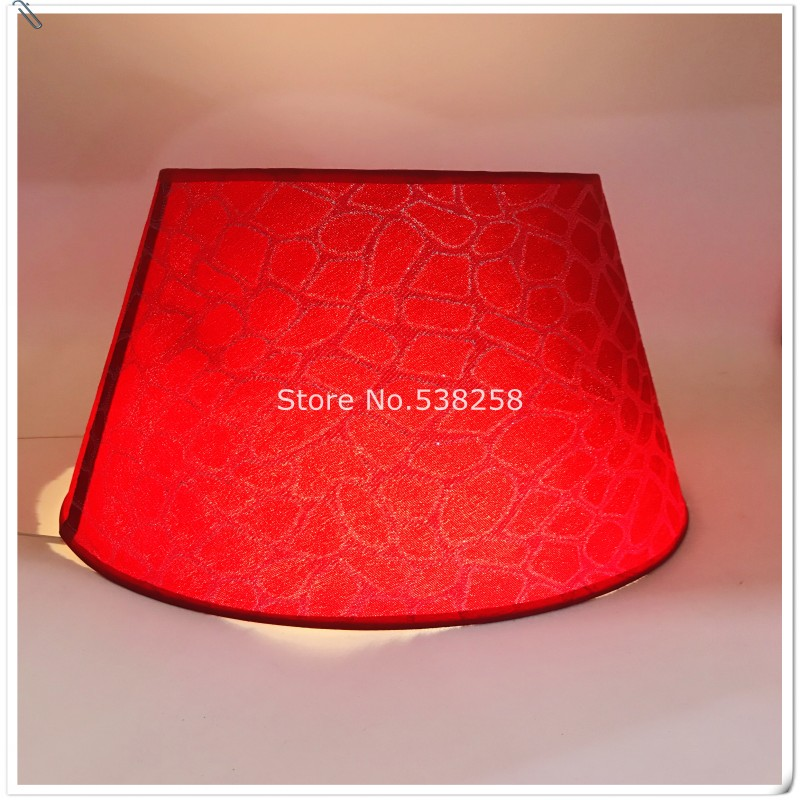 Online E27 Modern Lampshade For Baby Room Table Lamp Pvc Pattern Textile Fabrics Decorative Red And Gold Silver Shade Aliexpress Mobile