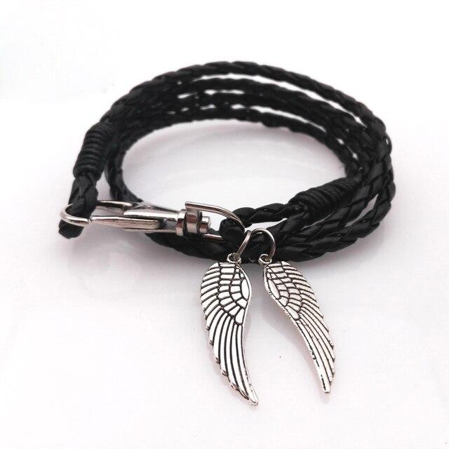 Bracelet Femme Leaves Wings...