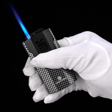 Cigar lighter large firepower inflatable windproof straight into the gift box CB-0802