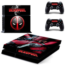 Skin for ps4 stickers Deadpool  for Sony PS4 PlayStation 4 Console and 2 controller skins