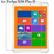 HD Ясно 0.26 мм 2.5D Премиум закаленное Стекло Экран протектор для Teclast X98 PLUS II 2 Tablette защитный Pellicule