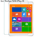 HD Limpar 0.26mm 2.5D Premium Vidro Temperado protetor de Tela para Teclast X98 Plus ii 2 Tablet Película Protetora