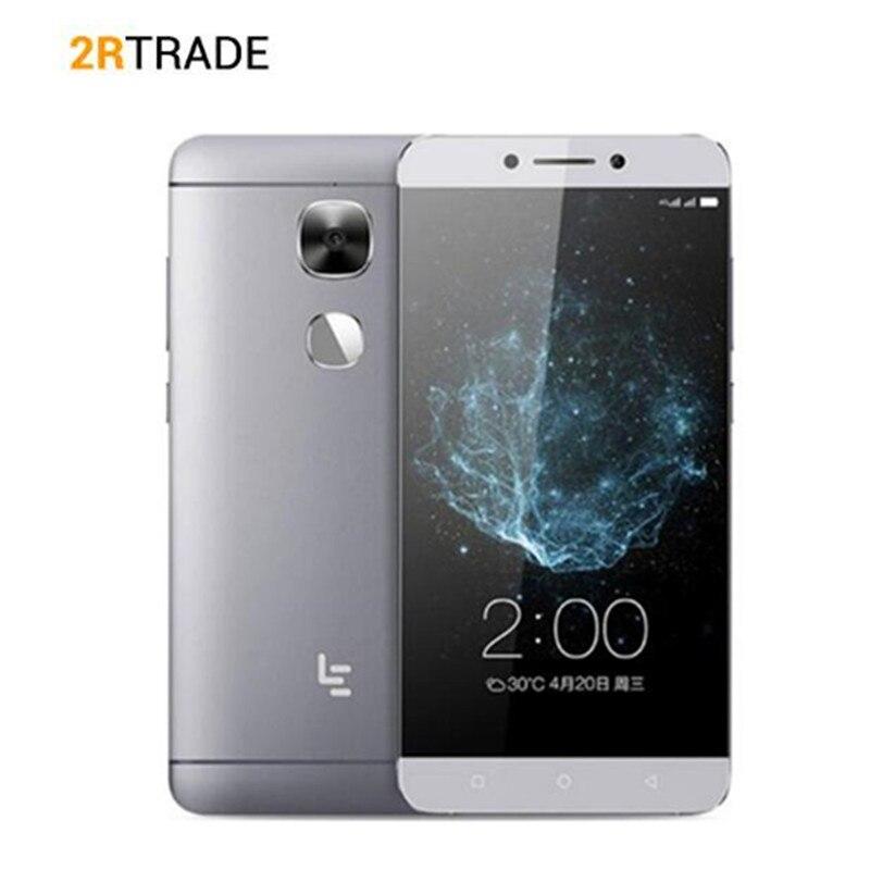 Original Letv LeEco Le2 X526 X520 X527 Snapdragon 652 5.5 3 GB RAM 64GB ROM 1920x1080 16.0MP 3000mAh téléphone portable à empreinte digitale