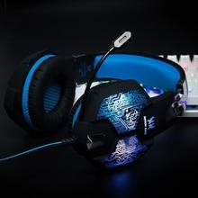 Casque Gamer Fone De Ouvido Com Microfone Para PC Gaming Headset Computador Fone de Ouvido Fone de ouvido de Jogos Para Computador Com Microfone