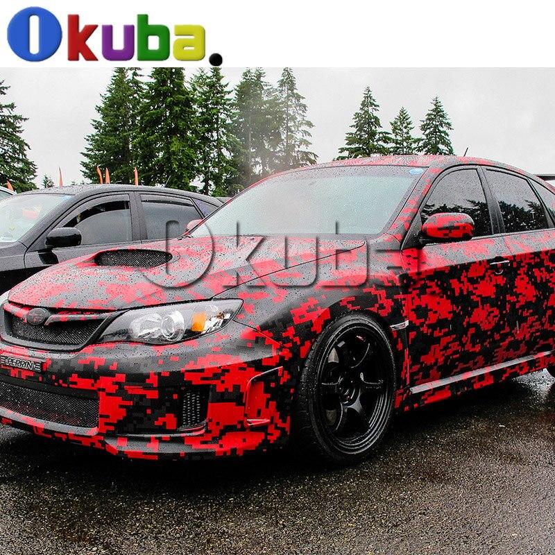 separation shoes 2588c dfd8b ... discount code for coupon 6ef2d 58b2b red black digital camo vinyl car  wrap for full car